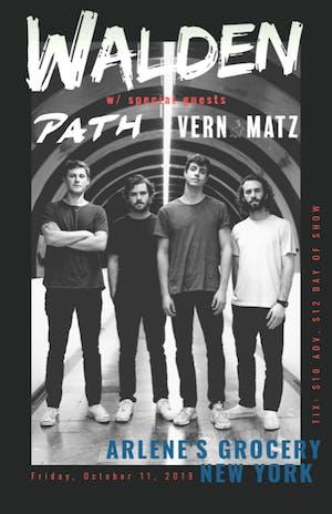 Walden | Path and Vern Matz