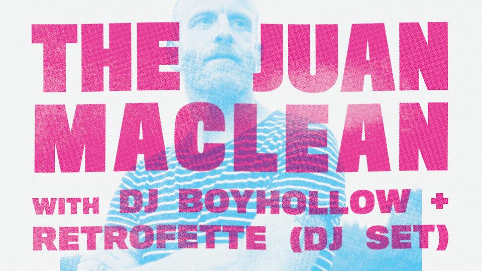 Juan Maclean (DJ Set)