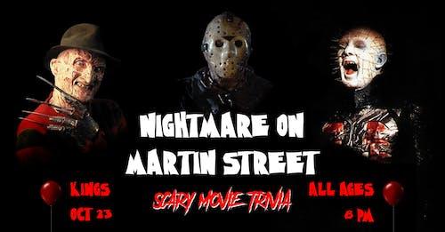 Nightmare on Martin Street: Scary Movie Trivia