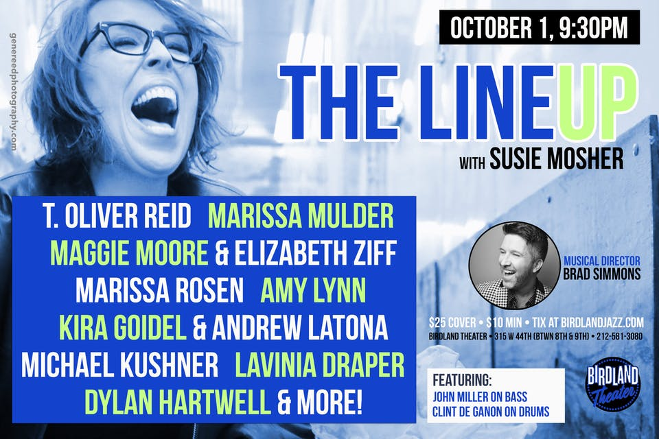 The Lineup with Susie Mosher with Musical Director Brad Simmons