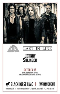 LAST IN LINE, JOHNNY SOLINGER (of SKID ROW), KENDALL MASON BAND