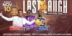 Last Laugh Comedy Tour - SPECIAL EVENT