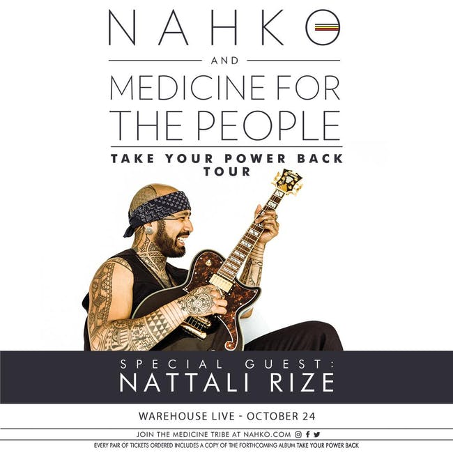 NAHKO AND MEDICINE FOR THE PEOPLE / Nattali Rize