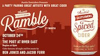 Austin Eastciders Ramble at The Post