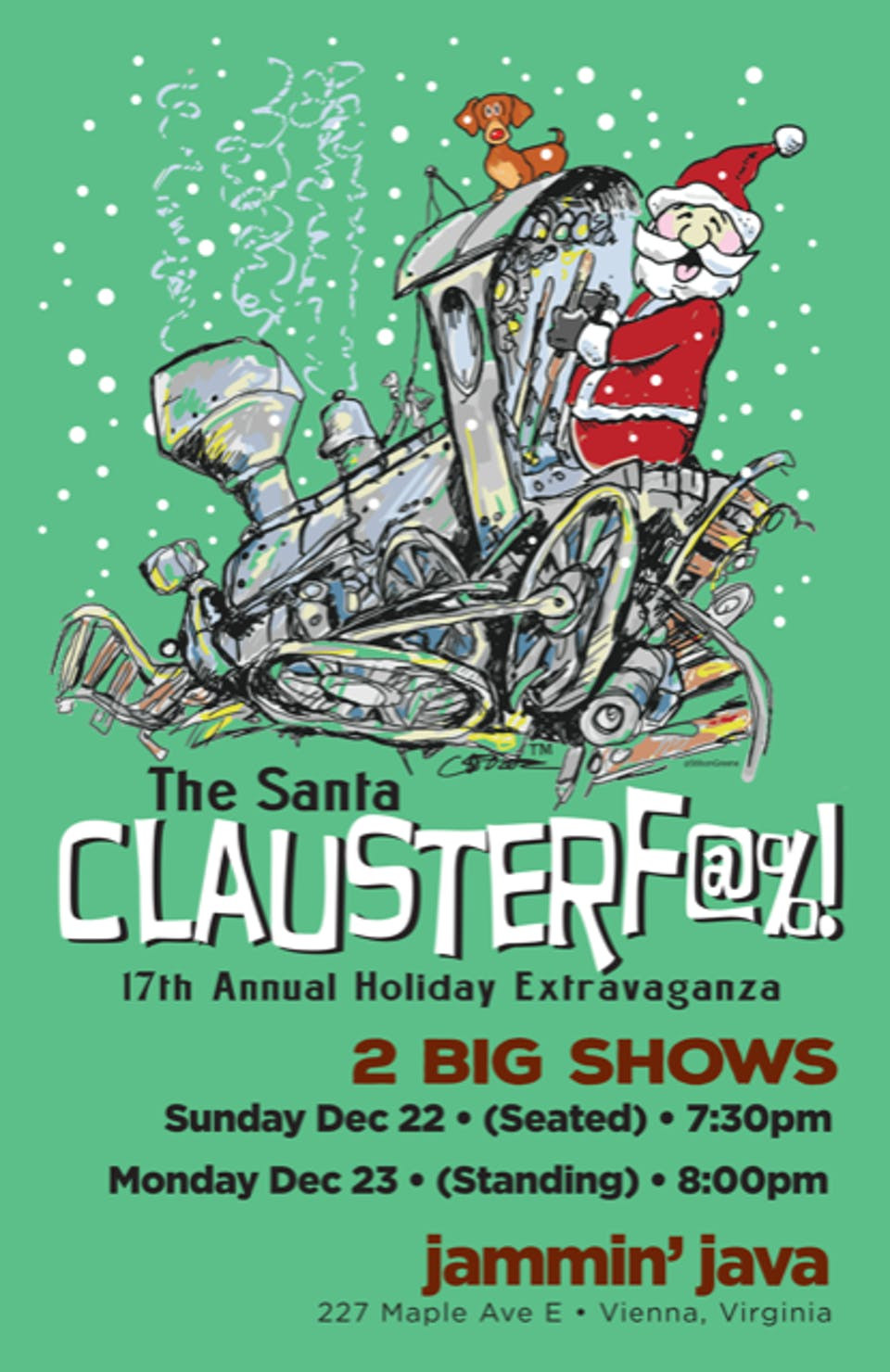 Todd Wright's 17th Annual Santa Clauster-f@%! Christmas Spectacular!