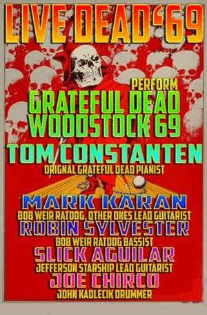 Live Dead '69 w/ Great Northern
