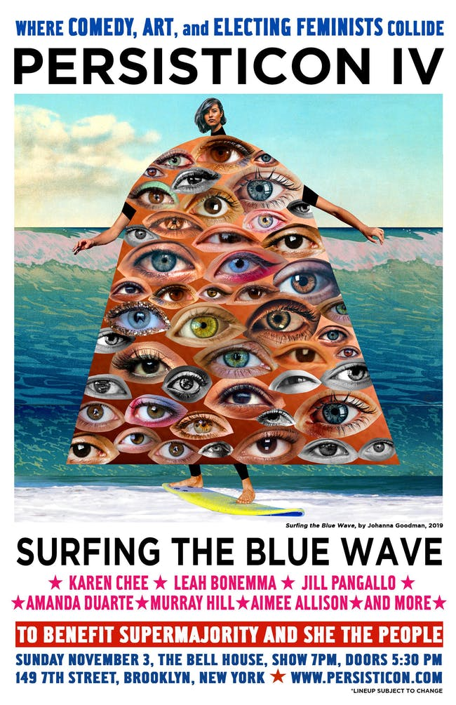 PERSISTICON IV: Surfing the BLUE Wave!