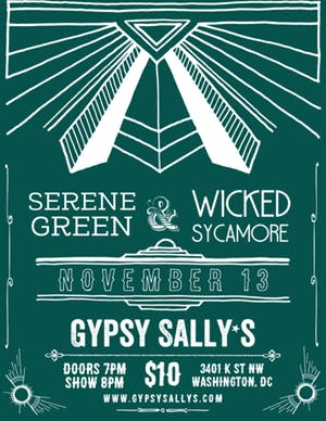 Serene Green, Wicked Sycamore