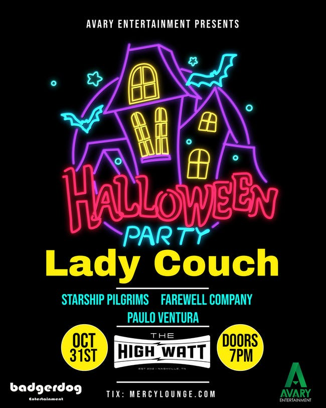 Halloween 2019 feat. Lady Couch, Starship Pilgrims, & more