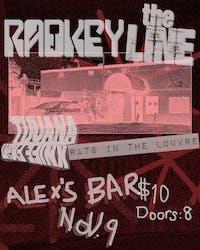 Radkey + The Line + Tijuana Knife Fight + Rats In The Louvre