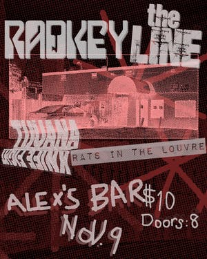 Radkey + The Line + Tijuana Knife Fight + Rats In The Louvre