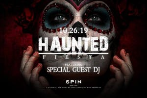 Haunted Fiesta at SPiN 54 Halloween 2019