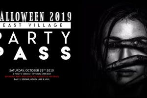 East Village Halloween Party Pass 10/26