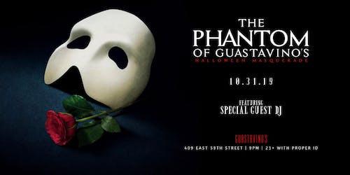 The Phantom of Guastavino's Halloween Masquerade