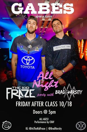 The Kid Fraze and Brad Varsity