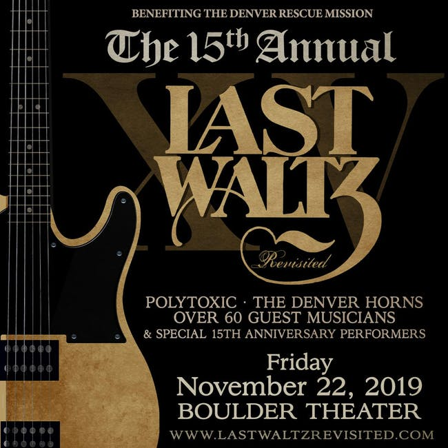 SOLD OUT: THE LAST WALTZ REVISITED - 15TH ANNIVERSARY