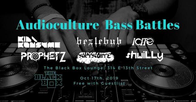 Audioculture Inaugural Bass Battle
