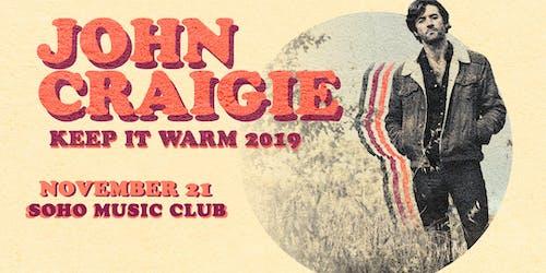 John Craigie w/ Special Guest Shook Twins (Night 1)