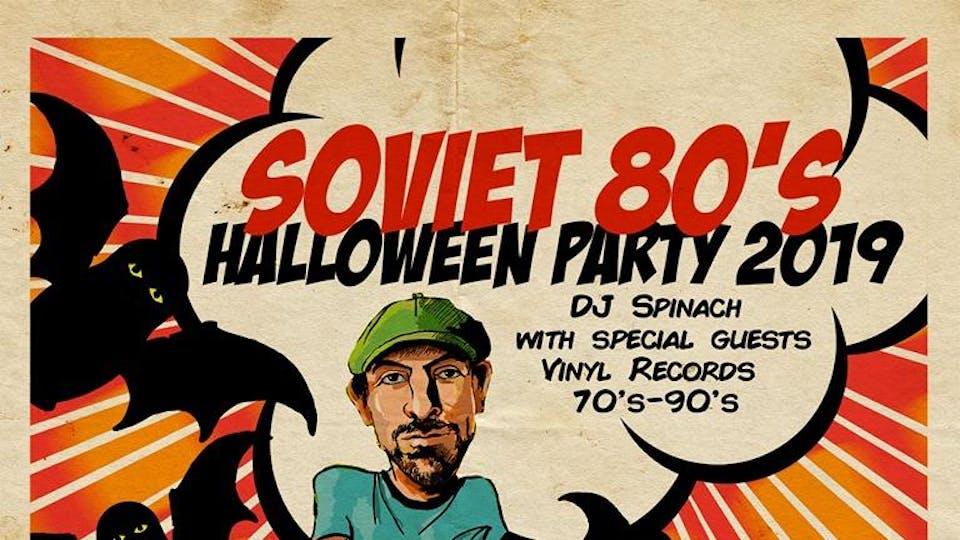 Soviet 80s Halloween Party