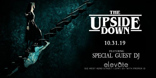 The UpsideDown with Fabolous at Elevate Nightclub NYC Halloween 10/31