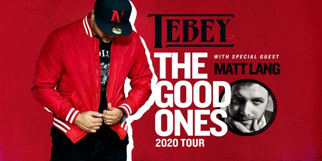 "TEBEY ""The Good One's Tour"" Mavricks - Barrie, Ontario"