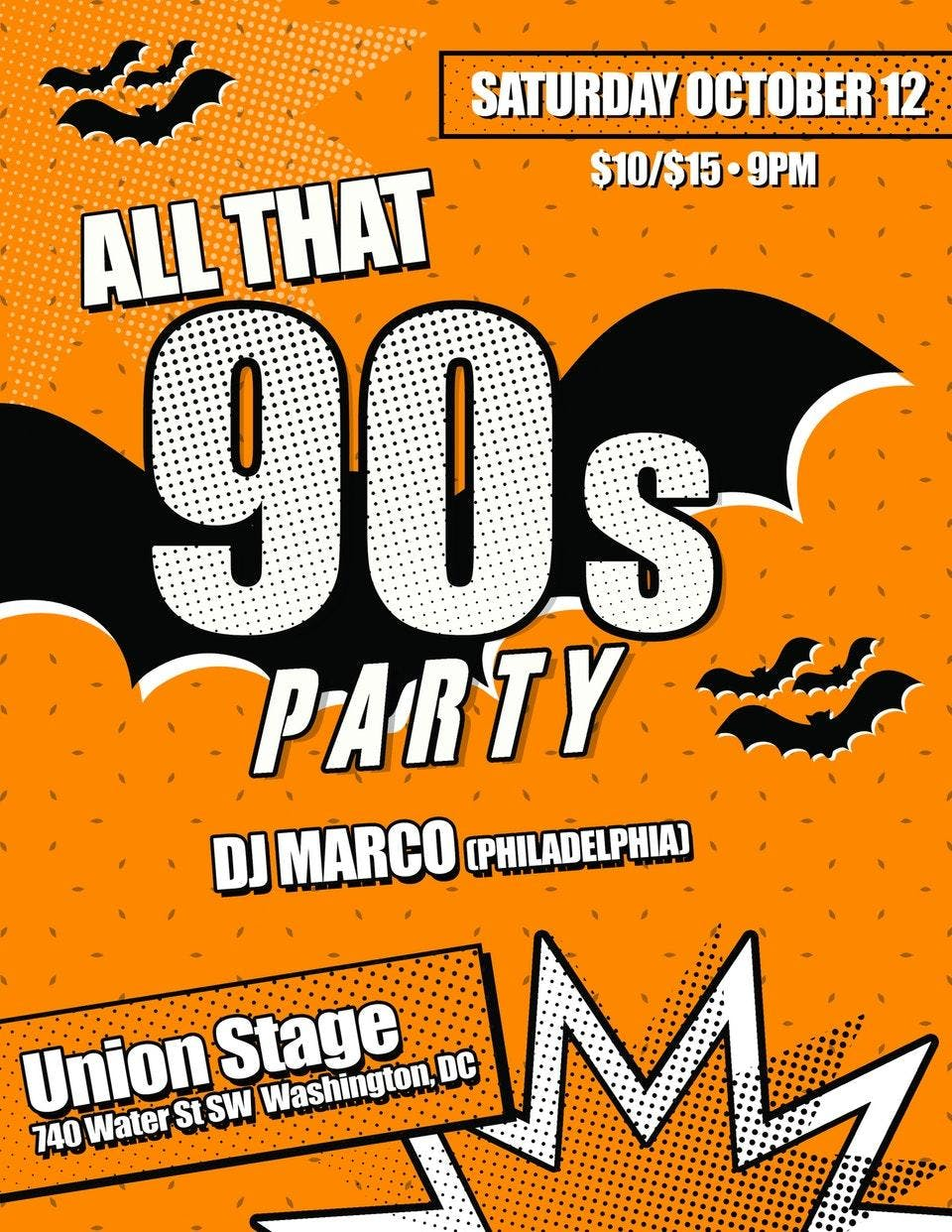 All That 90's Party