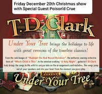 TD Clark Christmas Show  with Poisoned' Crue at Brauer House
