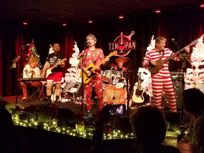 Flashlight Tag presents Rudolph's Rock N Roll Revue