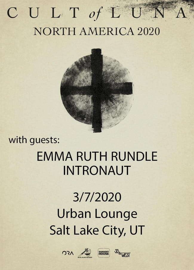 CULT OF LUNA with Emma Ruth Rundle, Intronaut