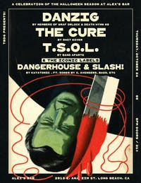 Halloween Celebration w/tributes to Danzig, TSOL, The Cure, & more!