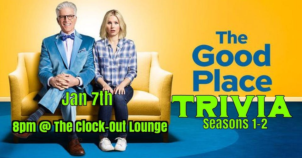 The Good Place trivia (Seasons 1&2)
