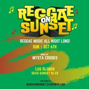 Rocker's Room presents Reggae on Sunset