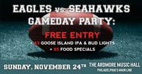 Eagles vs Seahawks Party: Free Entry, Beer/Food Specials, Open Bar & More!