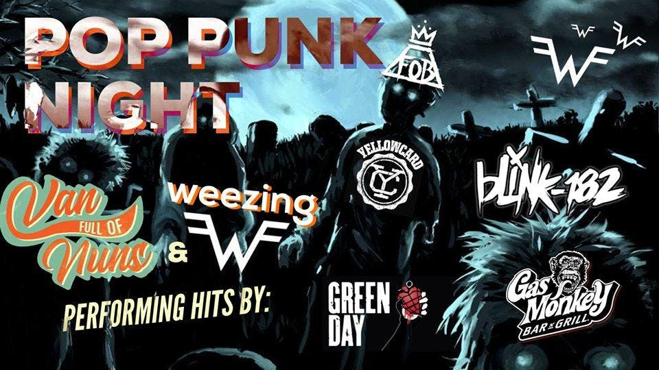 Pop Punk Night! feat. Weezing (A Tribute To Weezer) & Van Full Of Nuns