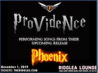 Providence in the Ridglea Lounge