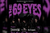 The 69 Eyes w/ Wednesday 13, The Nocturnal Affair, The Crowned