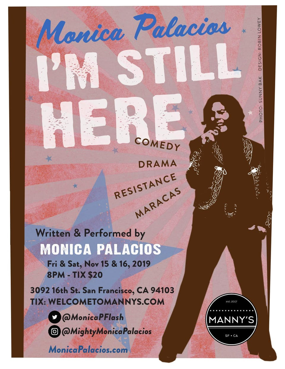I'M STILL HERE: A Monica Palacios Production