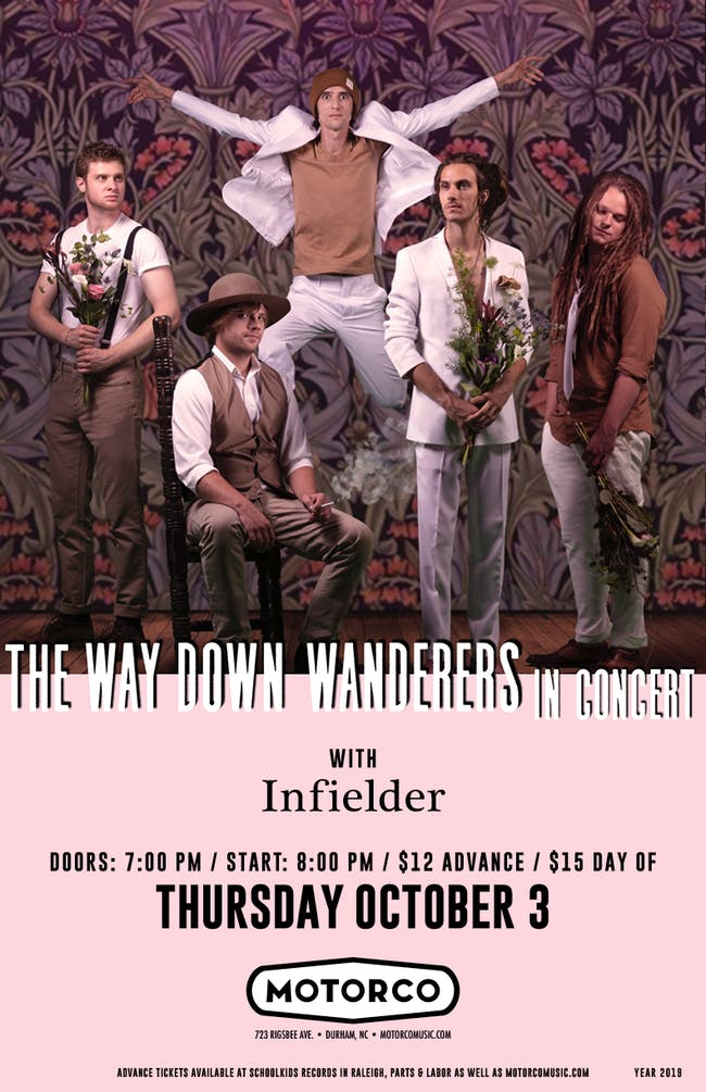 THE WAY DOWN WANDERERS/ Infielder