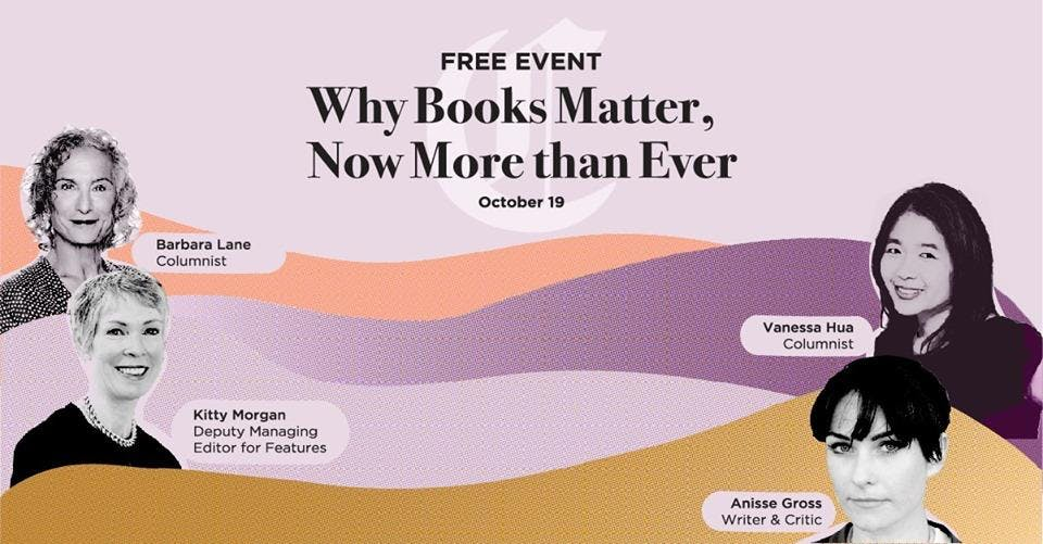 Lit Crawl 2019: Why Books Matter, Now More than Ever