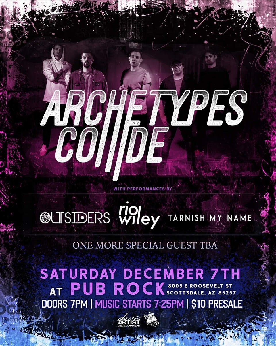 Archetypes Collide Tickets Pub Rock Live Scottsdale