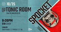 Spocket EP Release Show w/ Earth Radio, BQ