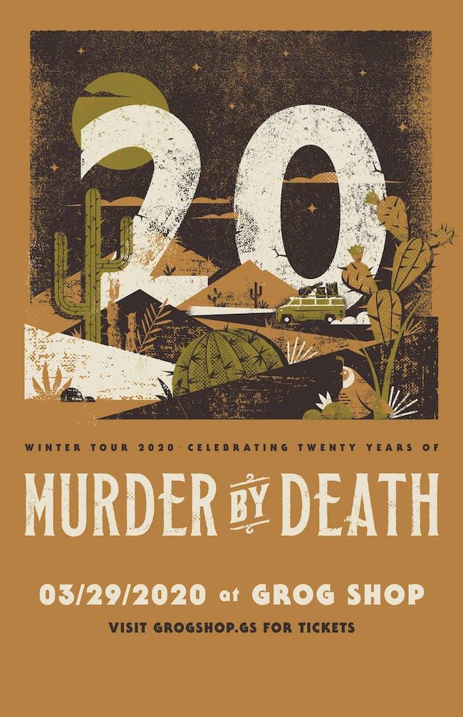 Murder By Death 20th Anniversary