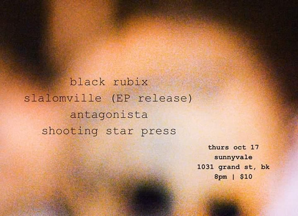 Slalomville EP release show