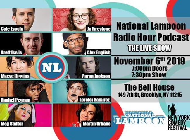 The National Lampoon Radio Hour