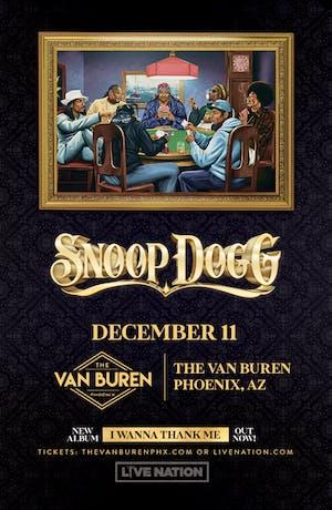 SNOOP DOGG – I Wanna Thank Me Tour