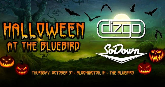 Dizgo & SoDown - Halloween at The Bluebird