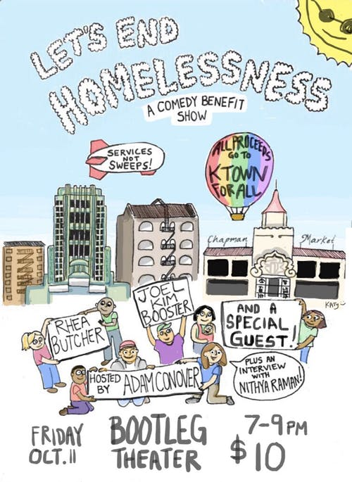 LET'S END HOMELESSNESS - A Comedy Benefit Show