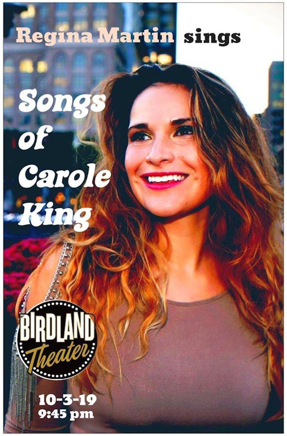 Regina Martin Sings Carole King