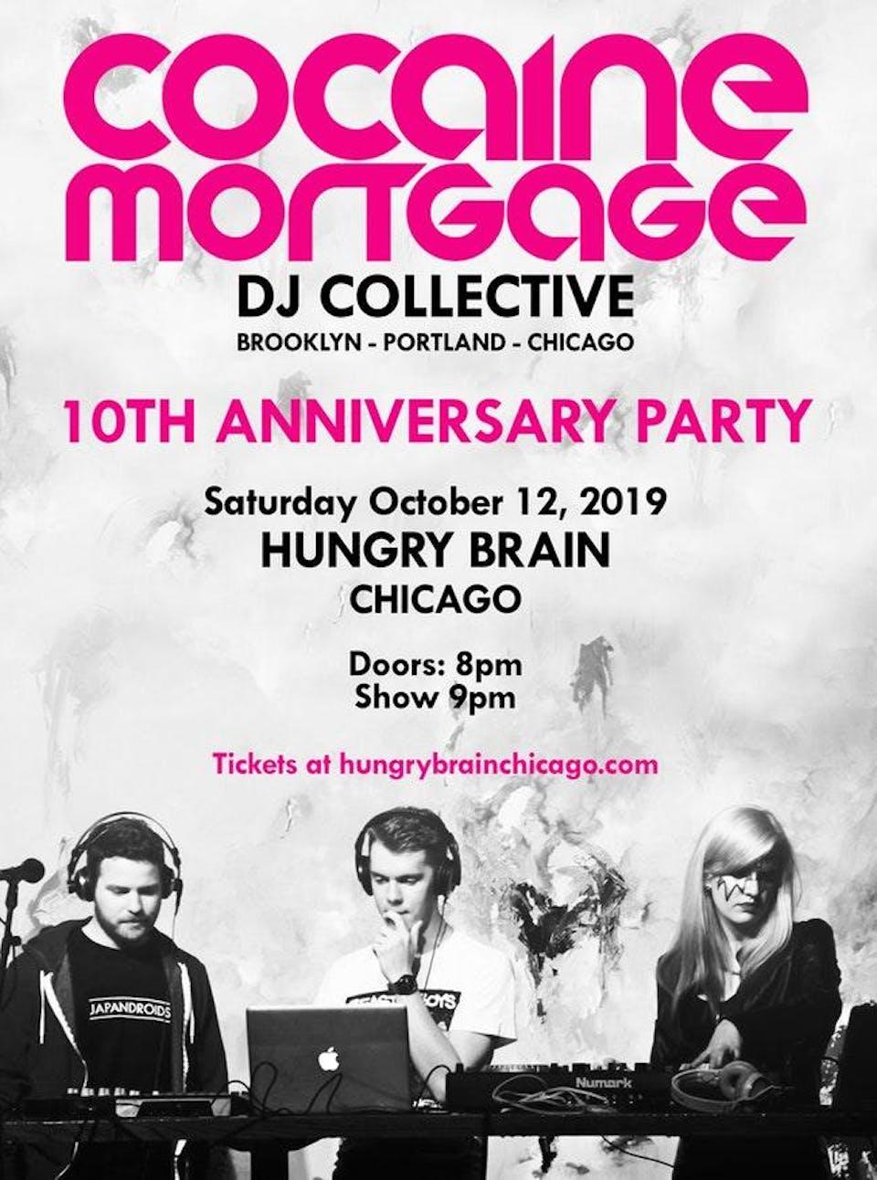 10th Anniversary Party: CoMo DJ Collective