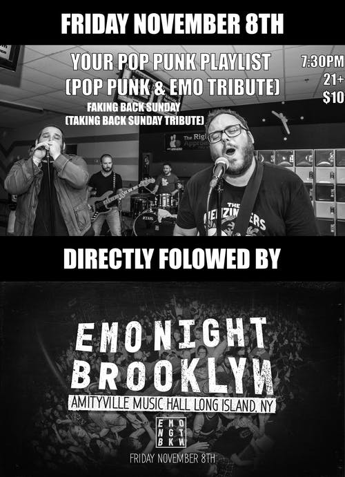 Your Pop Punk Playlist (Pop Punk & Emo Tribute)